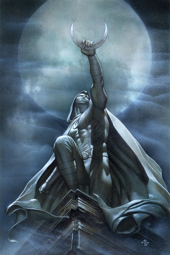 Moon Knight #1 Variant Cover by Adi Granov