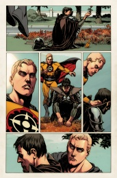 New Avengers #16.NOW Preview 1 Art by Rags Morales