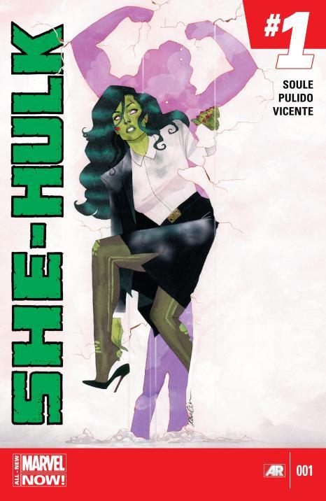 She-Hulk #1 - Page 1