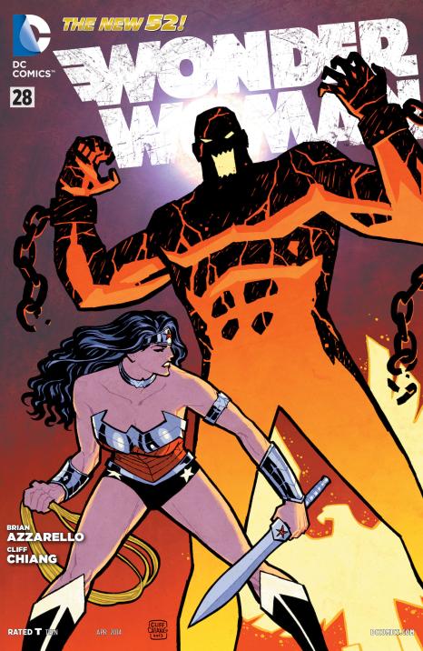 Wonder Woman #28 Cover