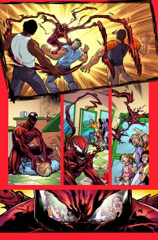 Deadpool Vs Carnage #1 Preview 1 Art by Salva Espin
