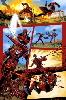 Deadpool Vs Carnage #1 Preview 3 Art by Salva Espin