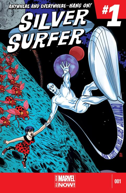 Silver Surfer #1 - Page 1