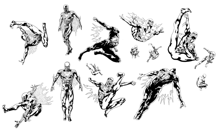Will Sliney Spider-man 2099 Character Designs