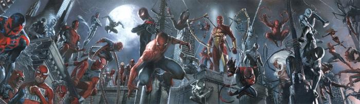 Spider-Verse Gabriele Dell'Otto Banner