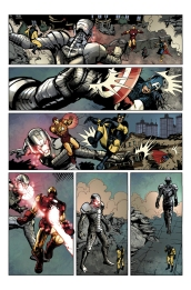 What If: Age of Ultron #1 Preview 2 Art by Raffaele Ienco