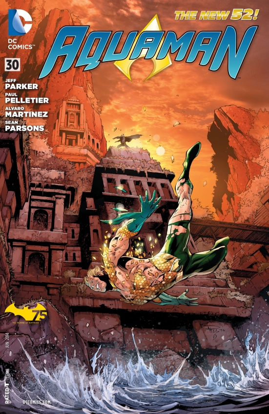 Aquaman #30 Cover
