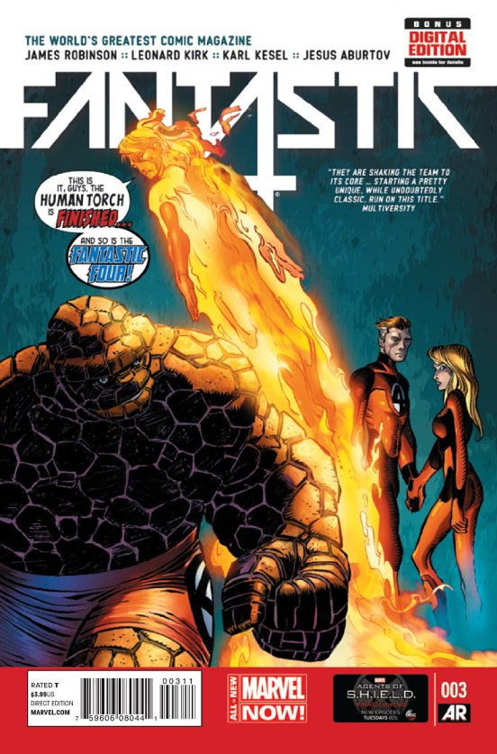 Fantastic Four #3 cover