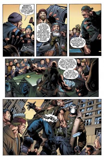 Forever Evil Aftermath: Batman Vs Bane #1 Preview 5 Art by Jaime Mendoza/Scott Eaton
