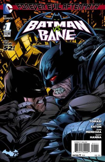 Forever Evil Aftermath: Batman Vs Bane #1 Preview Cover