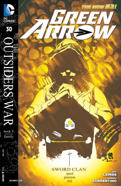 Green Arrow #30 - Page 1
