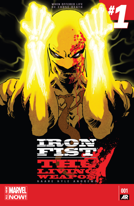 Iron Fist The Living Weapon #1 Cover