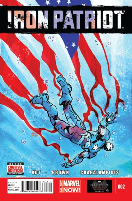 Iron Patriot #2 cover