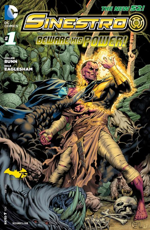 Sinestro #1 - Page 1