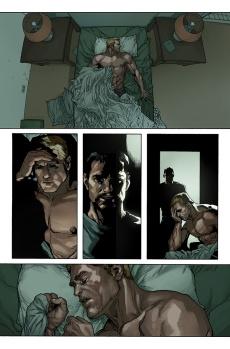 Avengers #29 Original Sin Tie-In Preview 1 Art by Leinil Yu