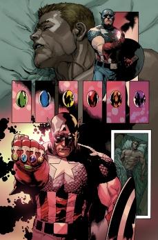 Avengers #29 Original Sin Tie-In Preview 2 Art by Leinil Yu