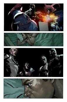 Avengers #29 Original Sin Tie-In Preview 3 Art by Leinil Yu