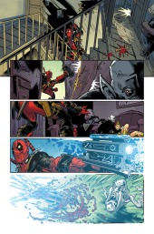 Deadpool #29 Preview 2 Art by John Lucas