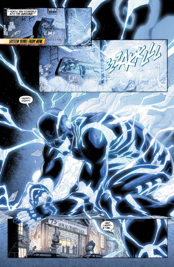 The Flash #31 Preview 5 Art by Brett Booth/Norm Rapmund