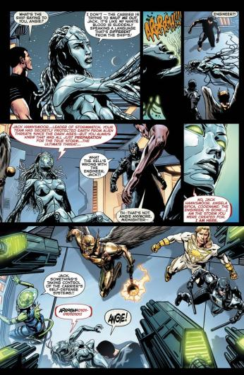 The New 52: Futures End #1 Preview 6 Art by Patrick Zircher