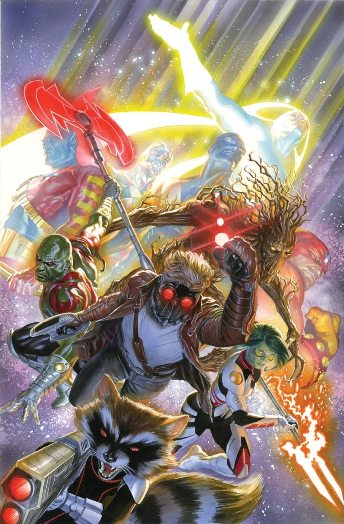 Guardians of the Galaxy #18 Variant Cover by Alex Ross