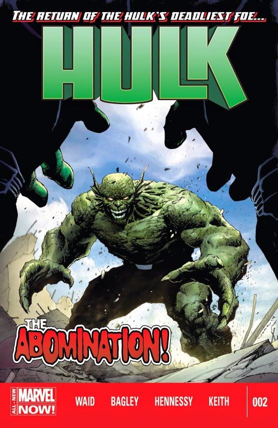 Hulk #2 cover