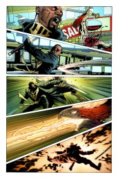 Mighty Avengers #10 Preview 3 Art by Greg Land