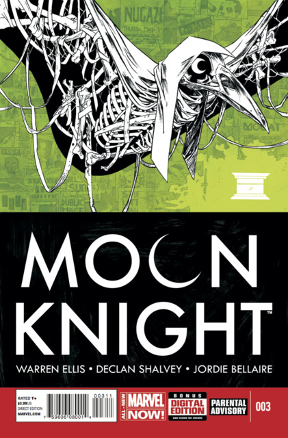 moon knight #3 cover