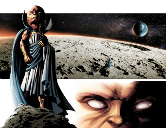 Original Sin #1 Preview 1 Art by Mike Deodato