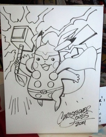 Pikachu: God of Thunder!