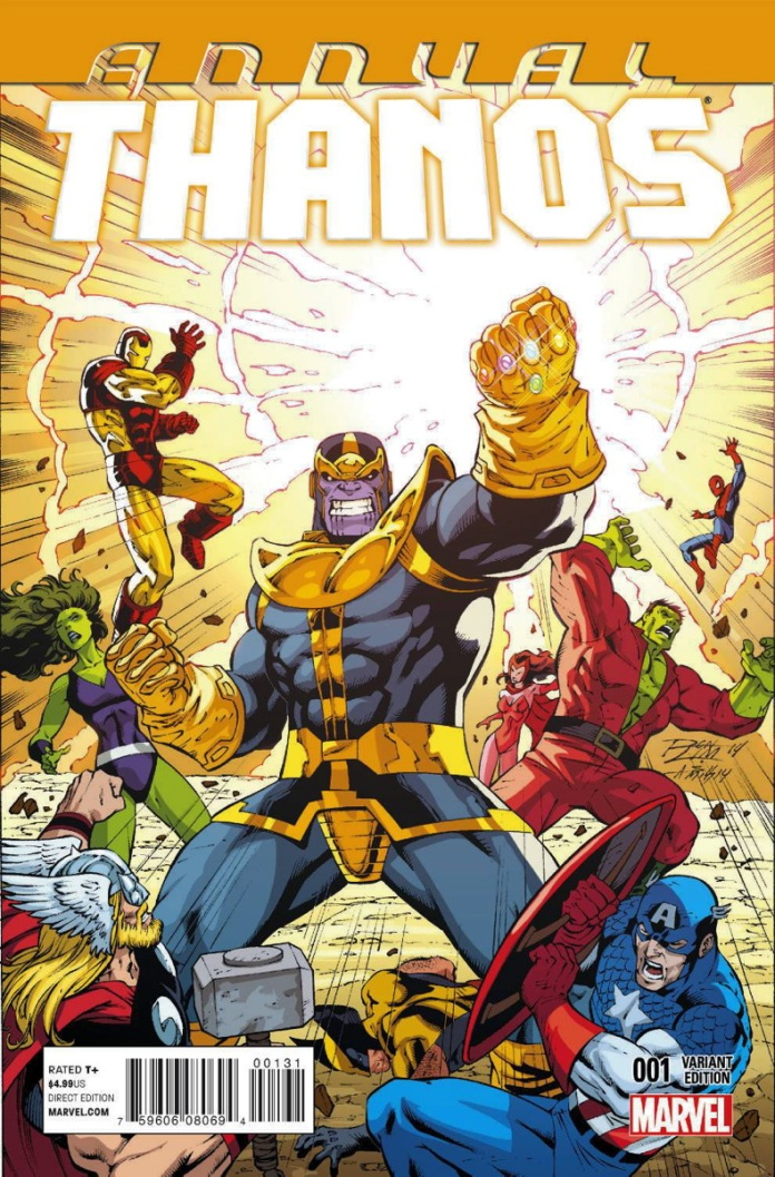 Thanos Annual #1 Variant Cover by Ron Lim