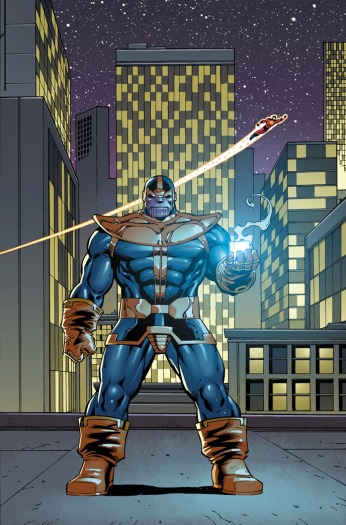 Thanos Annual #1 Preview 1 Art by Ron Lim