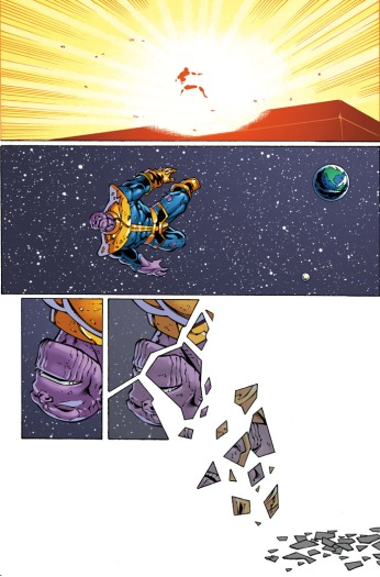 Thanos Annual #1 Preview 2 Art by Ron Lim