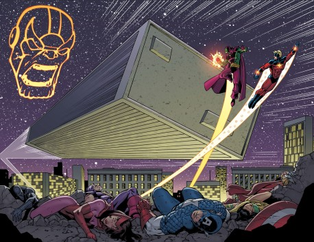 Thanos Annual #1 Preview 3 Art by Ron Lim
