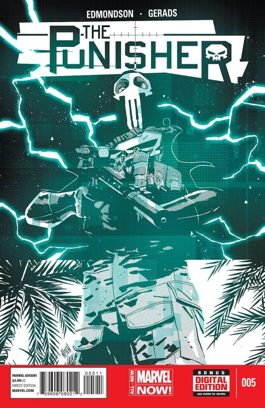 the punisher #5 cover