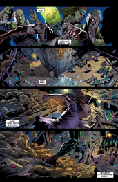 Batwing #32 Preview 2 Art by Julio Ferreira/Eduardo Pansica