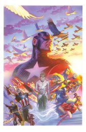 Captain America #22 75th Anniversary Variant by Alex Ross
