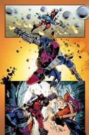 Deadpool Vs X-Force #1 Preview 1 Art by Pepe Larraz