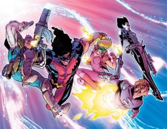 Deadpool Vs X-Force #1 Preview 2 Art by Pepe Larraz