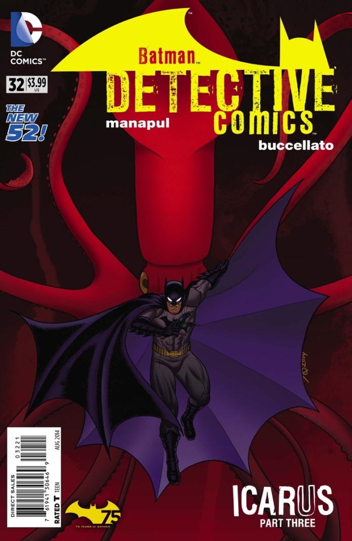Detective Comics #32 Variant Cover by Joseph A Quinones Jr.