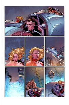 Fantastic Four #6 Original Sin Tie-In Preview 1 Art by Leonard Kirk/Dean Haspiel