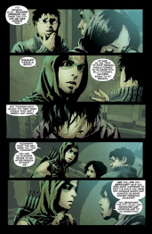 Green Arrow #32 Preview 3 Art by Andrea Sorrentino