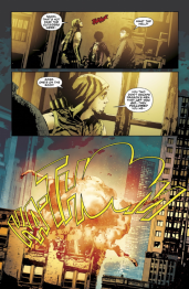 Green Arrow #32 Preview 4 Art by Andrea Sorrentino