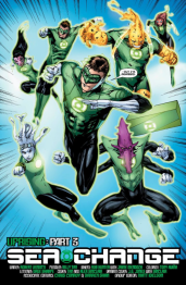 Green Lantern #32 Preview 1 Art by Rob Hunter/Billy Tan