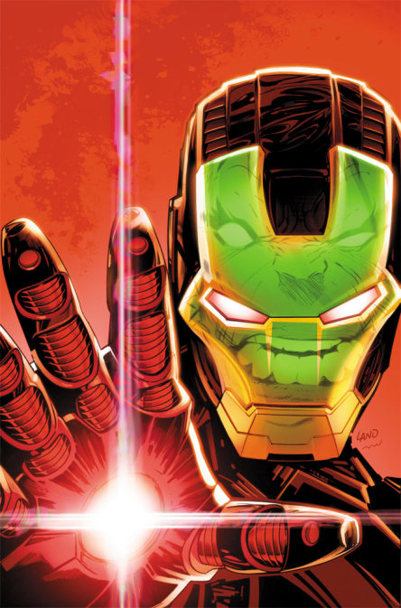 Iron Man vs. Hulk Cover