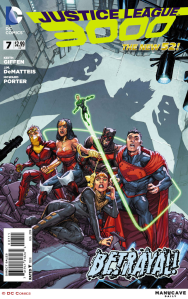 Justice League 3000 #7 Cover