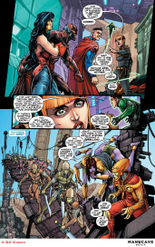 Justice League 3000 #7 Preview 3 Art by Howard Porter