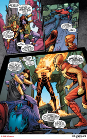 Justice League 3000 #7 Preview 4 Art by Howard Porter