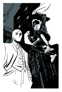 Greg Smallwood Moon Knight Sketch