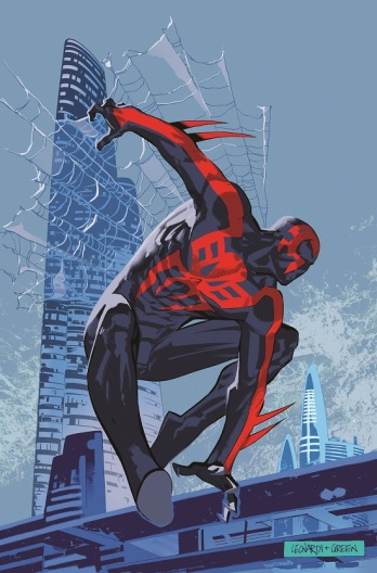 Spider-Man 2099 #1 Variant Cover by Rick Leonardi